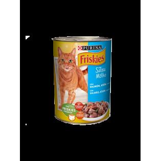 Friskies Gato Paté Salmão e Atum 400gr