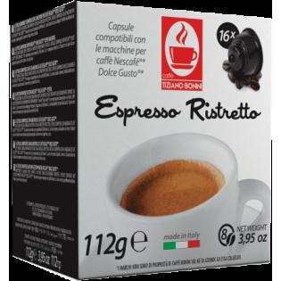 Café Ristretto Bonini D.G. 30Unid. 210gr