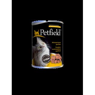 Petfield Wetfood Cat Tuna e Salmon 410gr