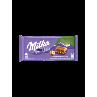Milka Chocolate Avelã Inteira 100gr