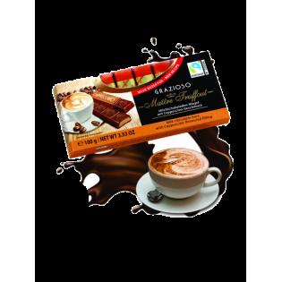 Barrita Chocolate Cappucino 100gr Grazioso