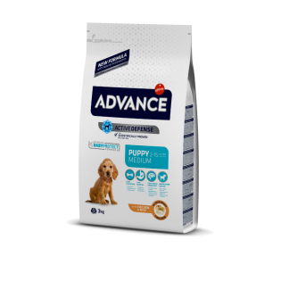 ADV Cão Puppy Médio C & R 3Kg