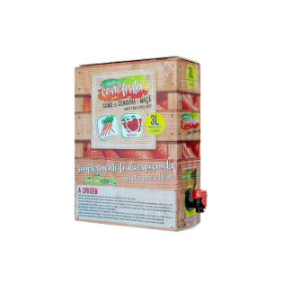 Sumo Natural Box Cenoura e Maçã 3L