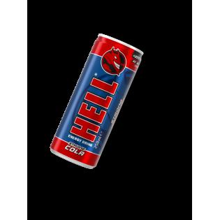 Bebida Energy Hell Strong Cola 250ml